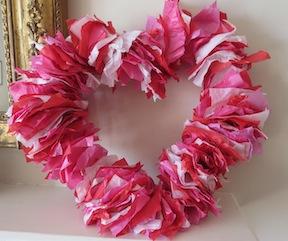 Valentines Crafts Wreath