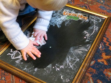 Homemade Toddler Toys Chalk