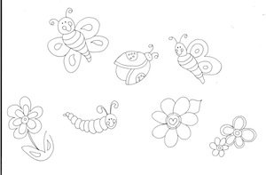 Free printable kids coloring pages for spring