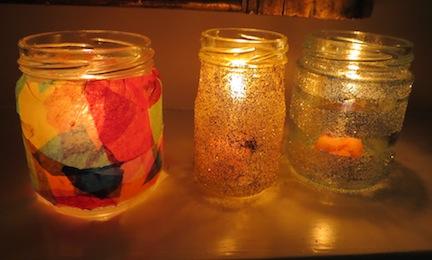 how to make homemade lanterns